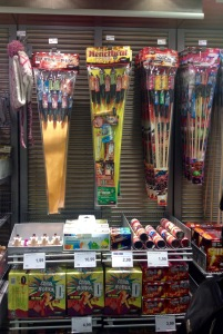 Fireworks for Silvester, so cheap!