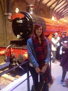 Me with the Hogwarts Express.