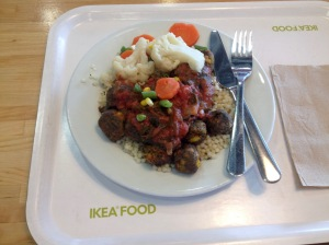 Ikea Vegan Meatballs <3