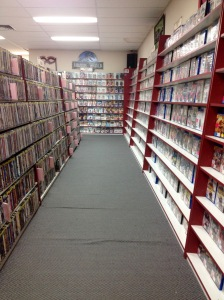 Gisborne Video Store. A thing of the past.