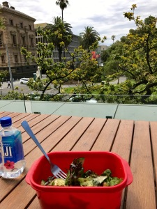 Lunch with a view.